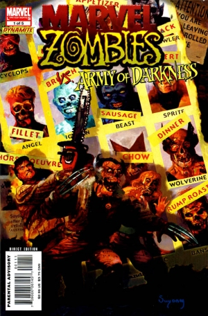Marvel Zombies vs Army of Darkness (2007)