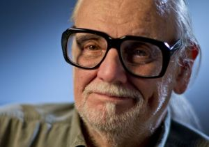 "George Romero, director of ""Night of the Living Dead"""