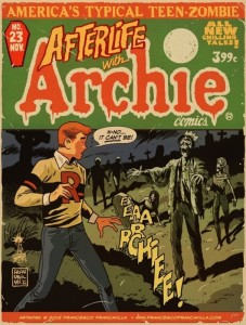 "Variant cover for ""Life with Archie"" #23"